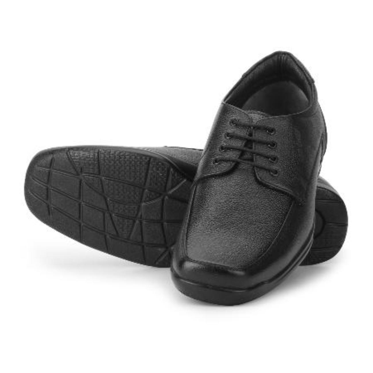pure leather black formal shoes online