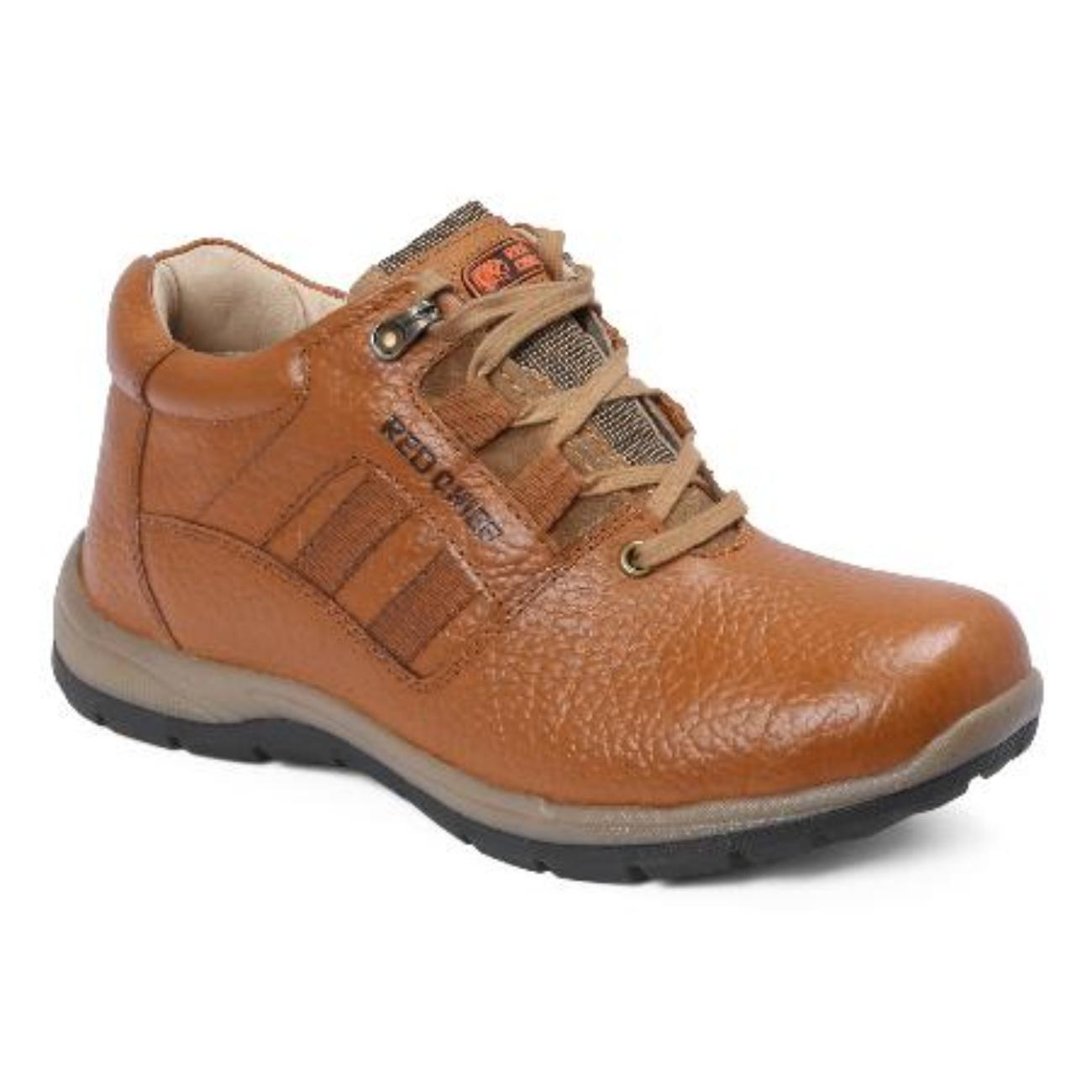 low ankle elephant tan casual leather shoes online