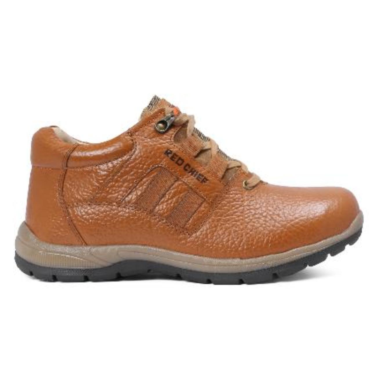 buy low ankle elephant tan casual leather shoes side view_1
