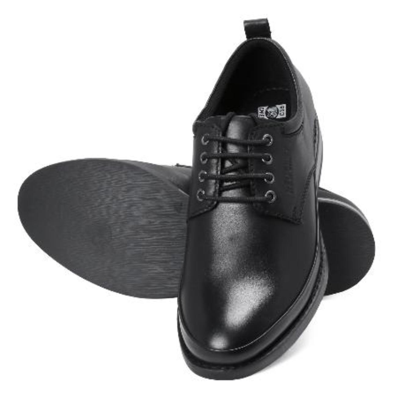 black original formal shoes for men